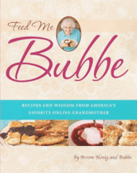 Feed Me Bubbe cookbook