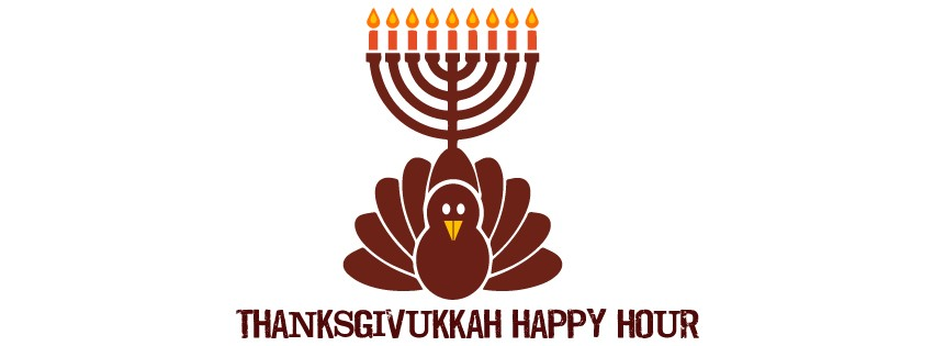 Thanksgivukkah Late Night Happy Hour: Wednesday, November 27 9:30 PM - Midnight at Ridgedale Bar Louie