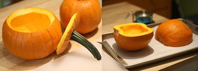 Take the seeds out of your pumpkins and roast them.