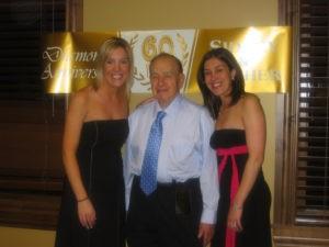 Allison Feldman, Sid Shafner, Kelly Feldman Weinblatt (Photo courtesy of the Feldman family).